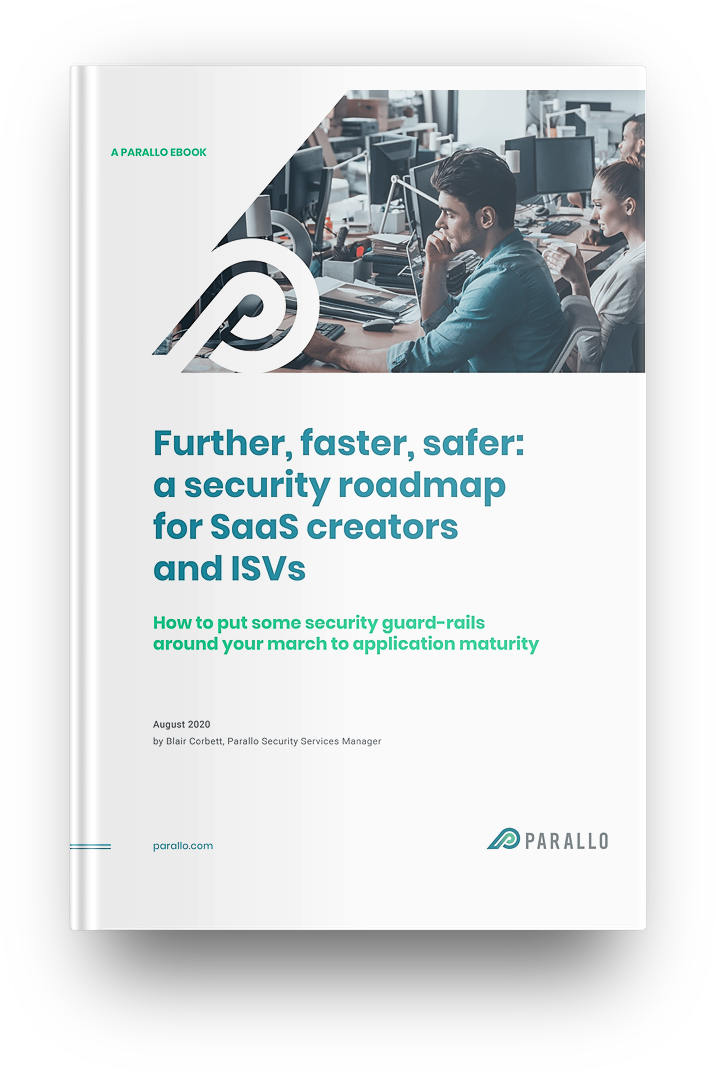Parallo Security Roadmap eBook Mockup